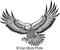 233x194 Clipart Vector Of Eagle Vector Csp4114445