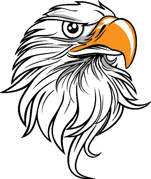 504x598 Eagle Clipart