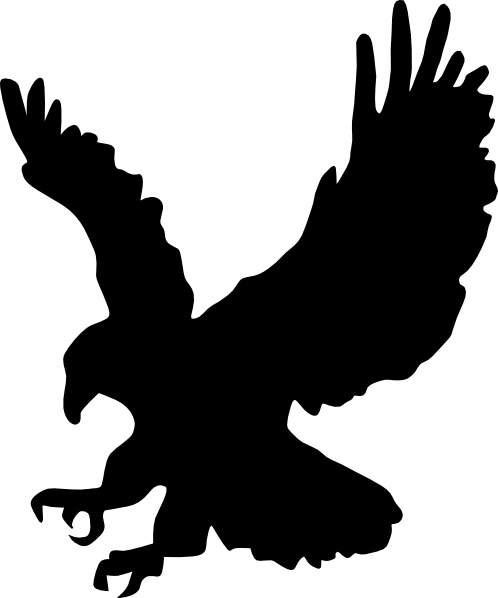 498x598 Eagle Clip Art Free Vector In Open Office Drawing Svg ( Svg