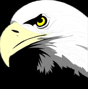 297x298 Bald Eagle Head Clip Art
