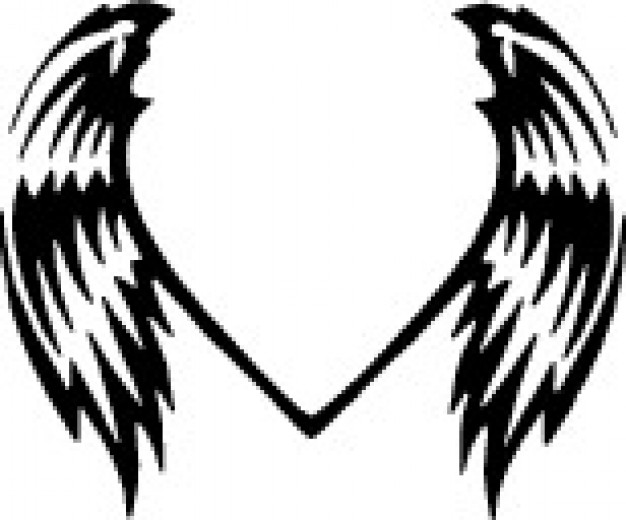 626x520 Angel Wing Clip Art Chadholtz