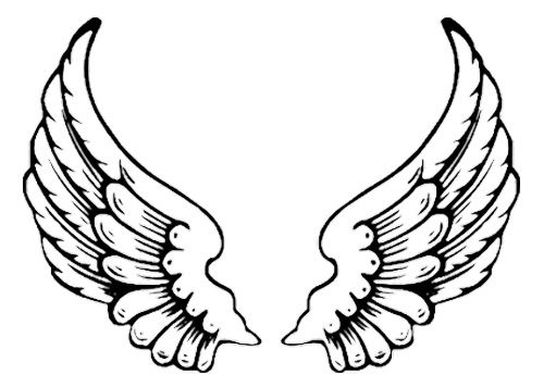 500x356 Eagle Wing Tattoo Coloring Pages Kids Coloring Pages