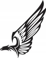 160x200 Eagle Wing Eagle, Celtic Tribal And Tatoos