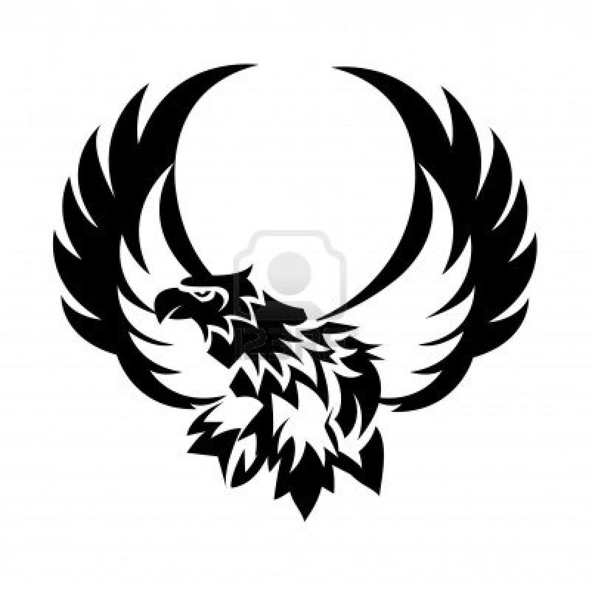 1203x1203 Open Wings Eagle Tattoo Design Clipart Panda
