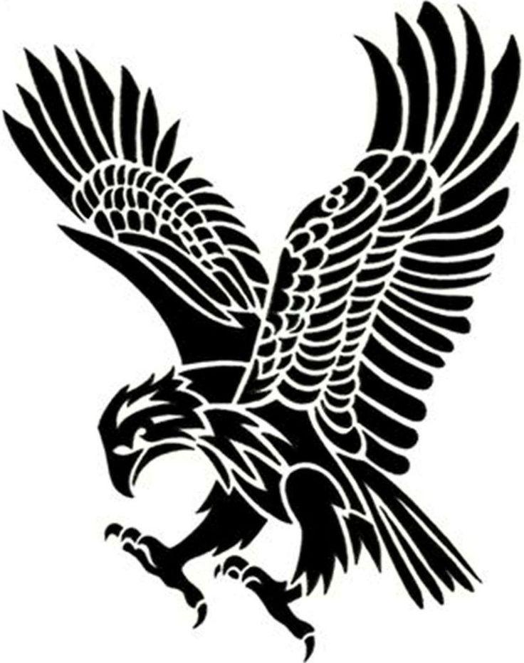 736x932 41 Best American Eagle Cartoon Art Tattoo Images