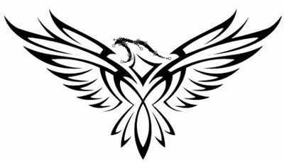 400x229 Eagles Wings Clipart