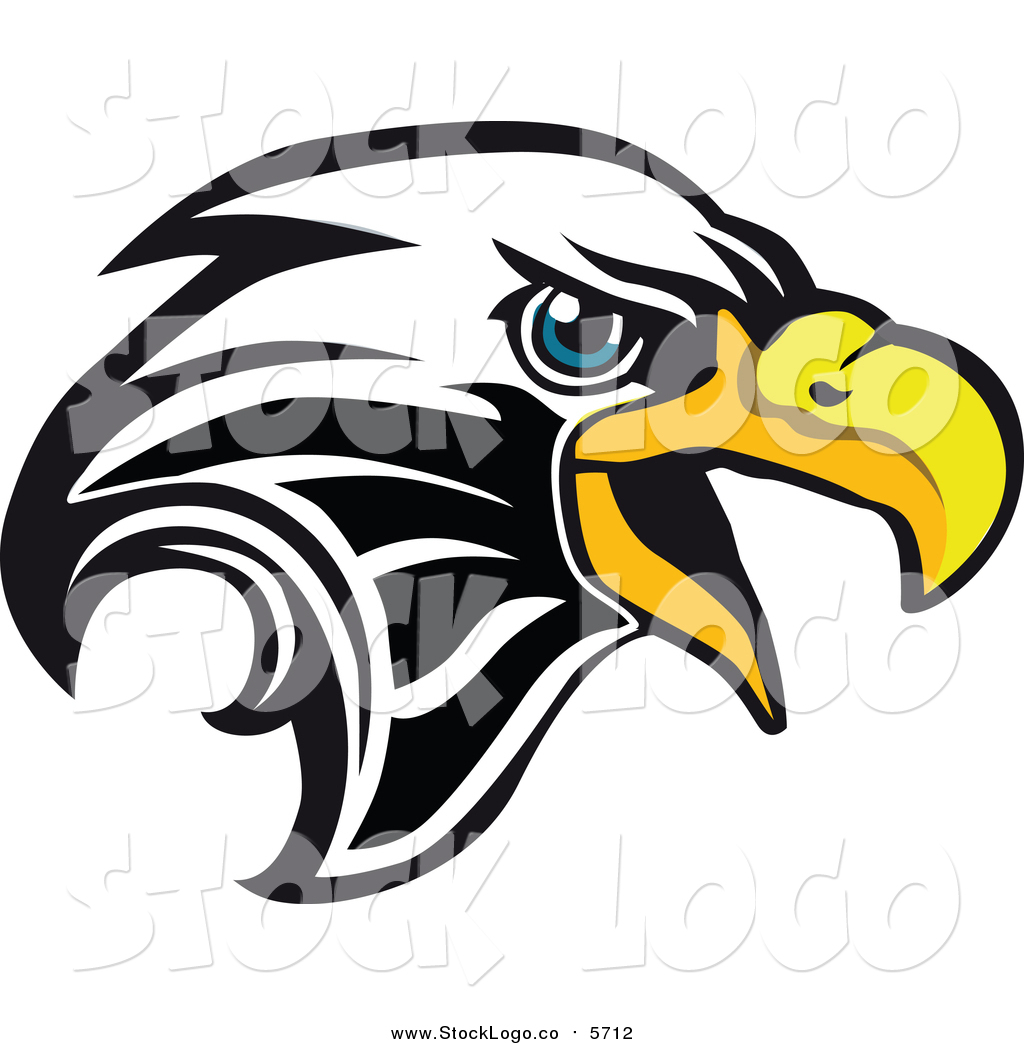 1024x1044 Vector Clipart Of A Bald Eagle Head Logo By Vector Tradition Sm