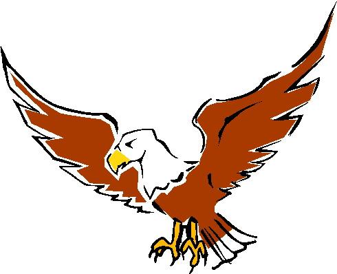 490x398 Clipart Eagle