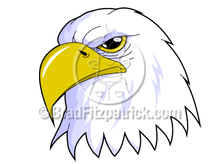 432x324 Patriotic Eagle Clip Art Eagle Clipart Clipart Of A Patriotic