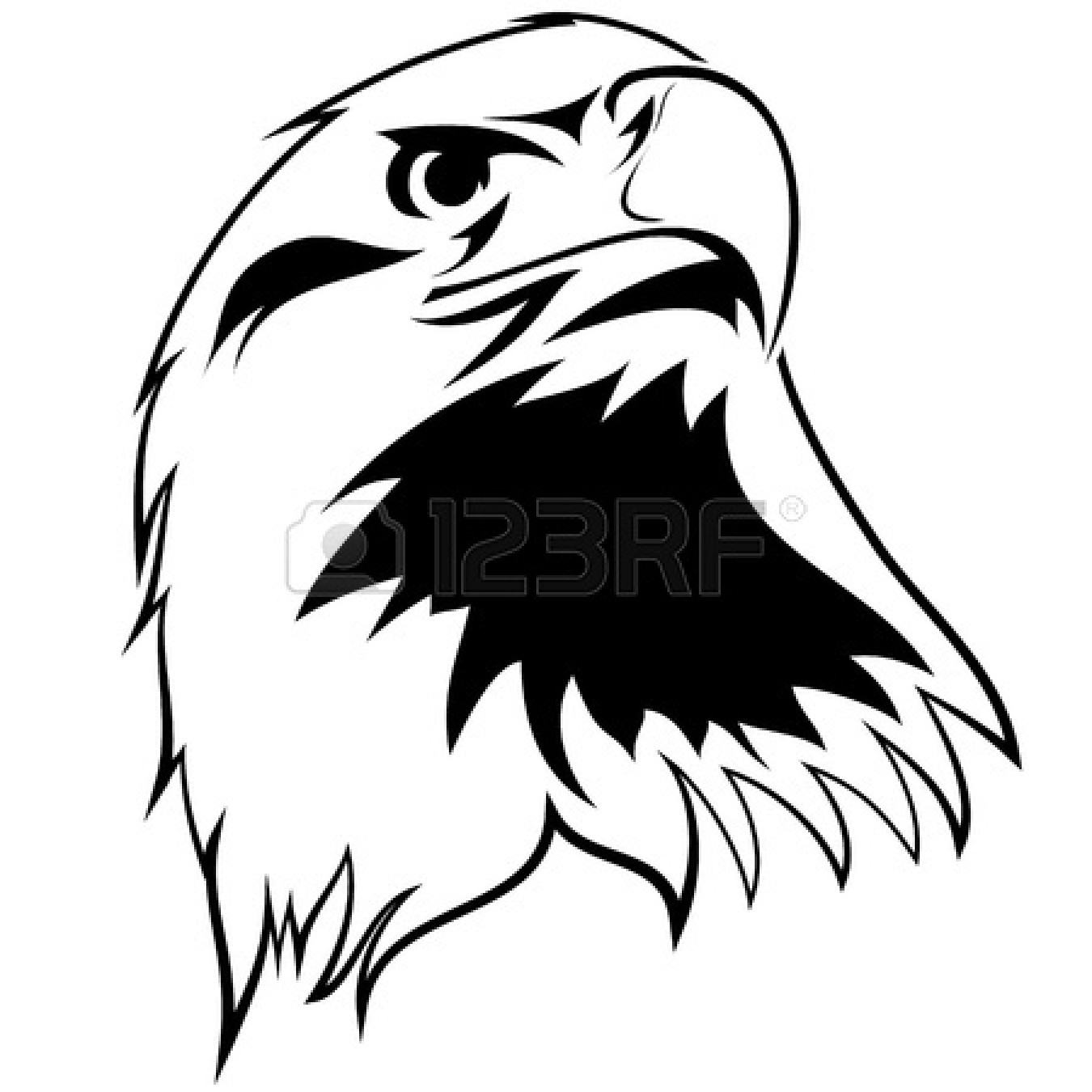 1350x1350 American Eagle Clipart Black And White Clipart Panda Free Clipart