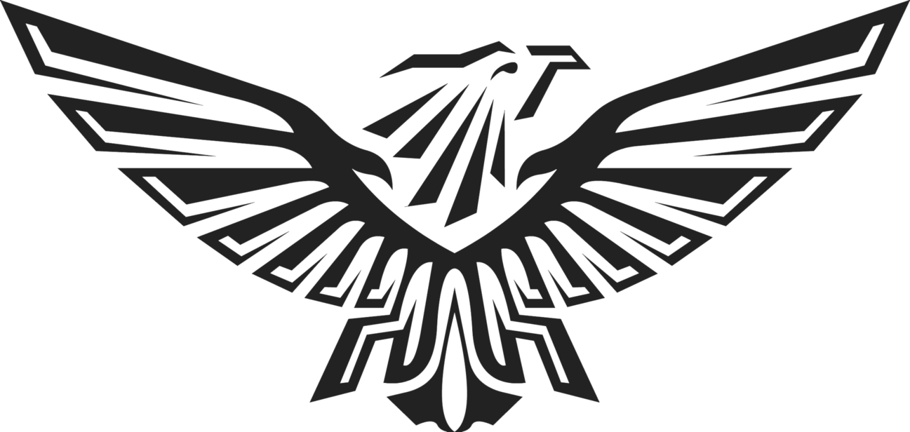 1297x616 Black Eagle Clipart Free Eagle
