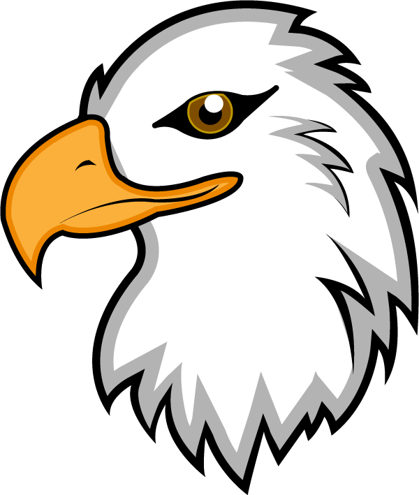 600x709 Eagle Clip Art With Raised Wings Free Clipart Images