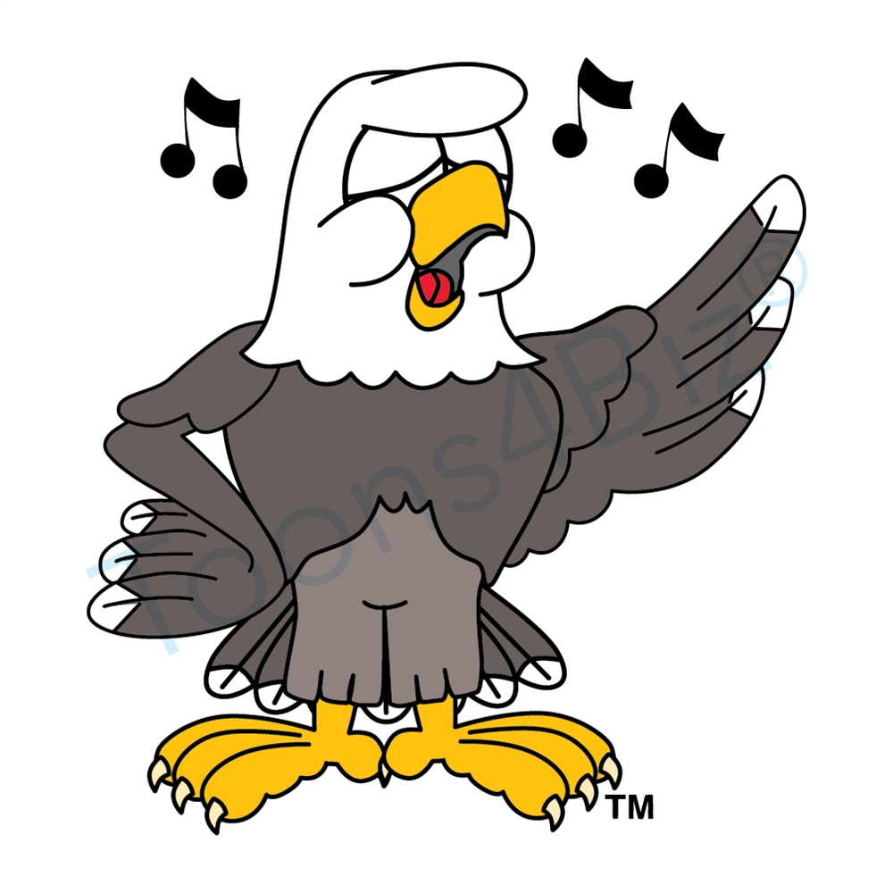 1000x1000 Bald Eagle Clip Art