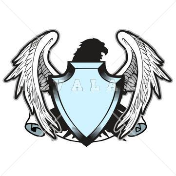 361x361 Eagle And Shield Clip Art