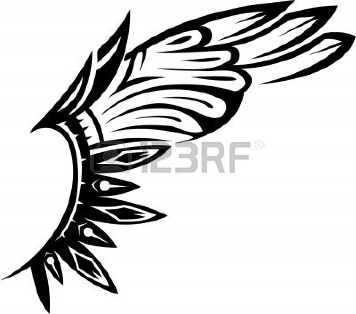 1200x1059 Wings Clipart Feather