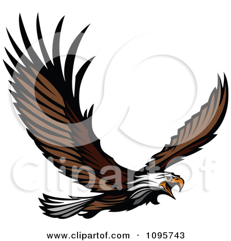 450x470 Bald Eagle Clipart Spread Wing