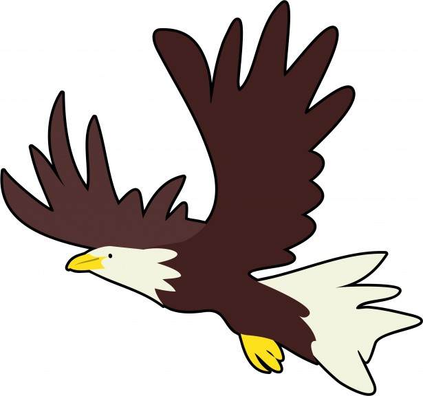 615x576 Cartoon Eagle Clipart 2167450