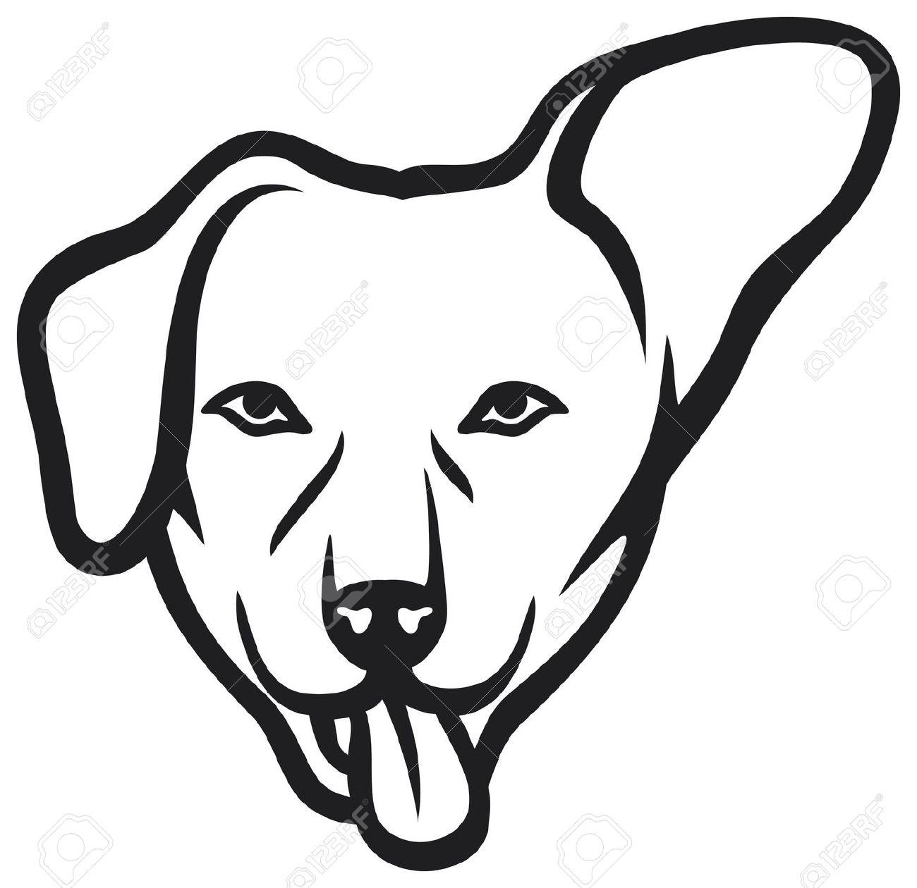 1300x1260 Perro Clipart Dog Ear