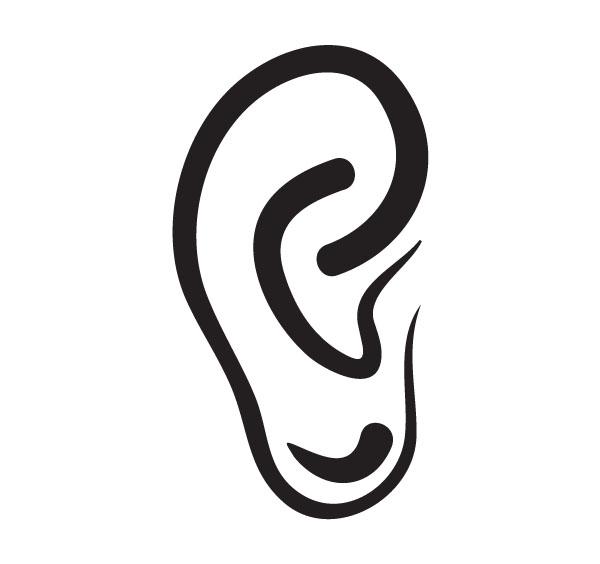 600x564 Ear Clipart 4
