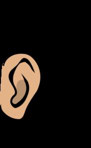 183x297 Ears Clipart Black And White Clipart Panda