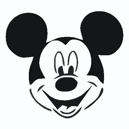 434x434 Mickey Mouse Ears Clip Art