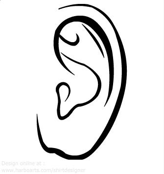 335x355 Ear Clipart 4