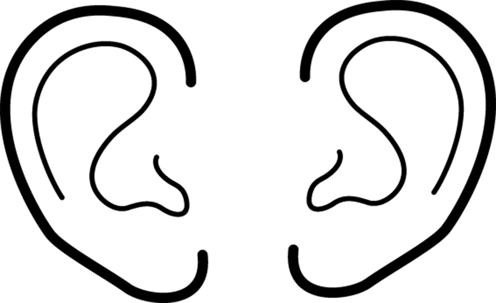 1600x979 Ear Clipart 3