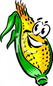 185x300 Art Image A Smiling Ear Of Corn