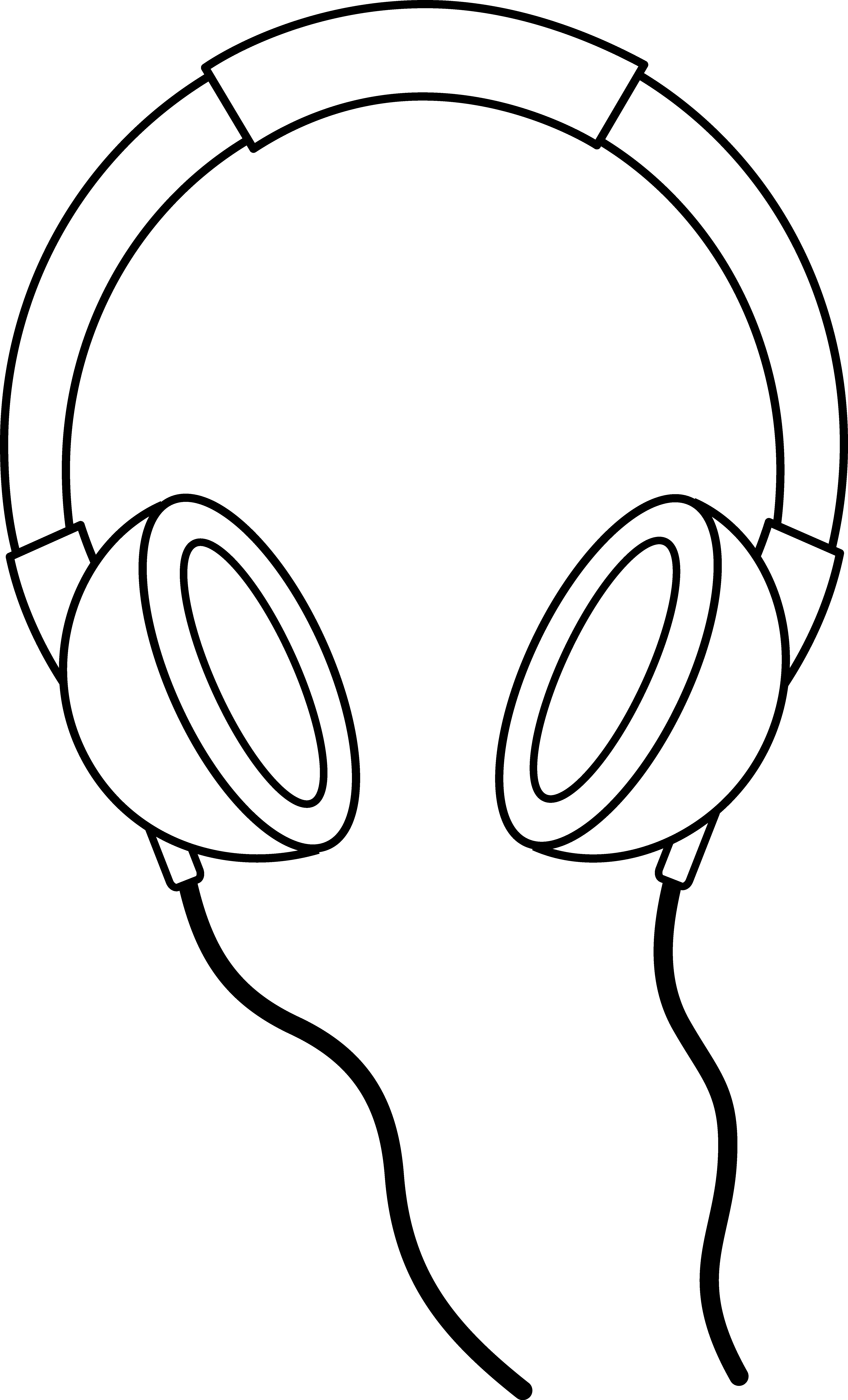 5159x8522 Listening Ears Clip Art