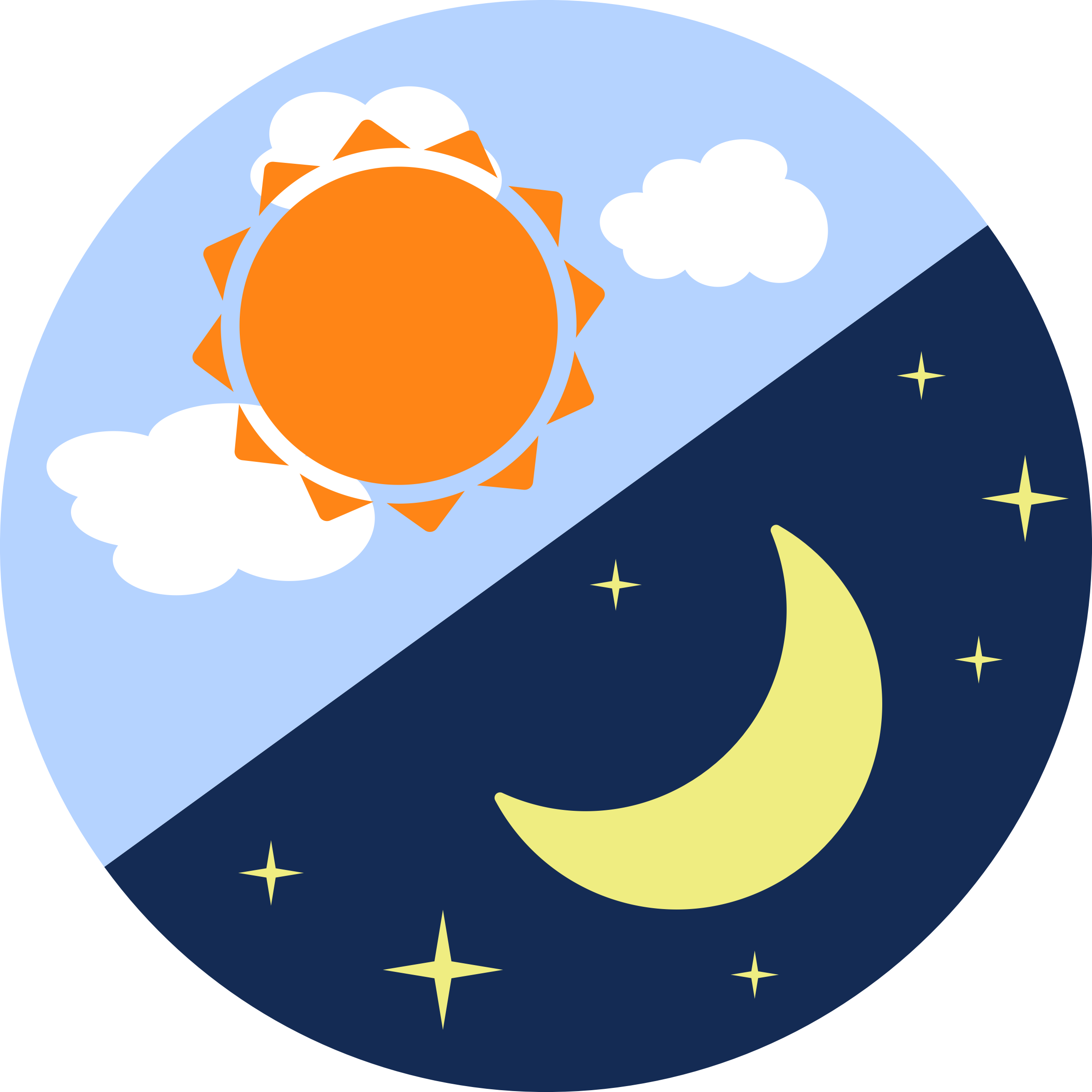 2400x2400 Moon Earth Sun Clipart