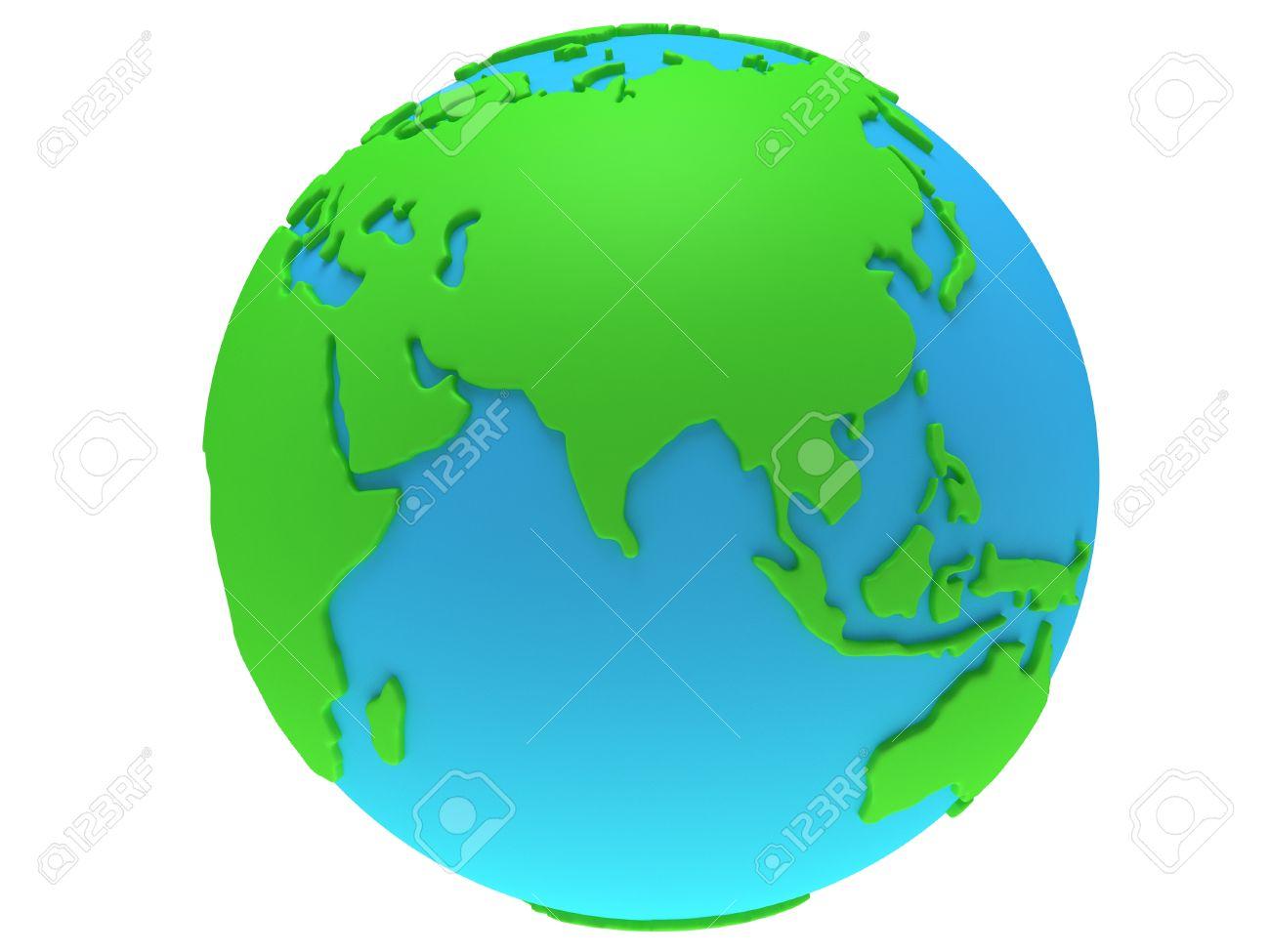 1300x975 Earth India Clipart