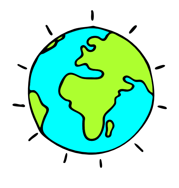 600x630 Earth Clipart Clear Background