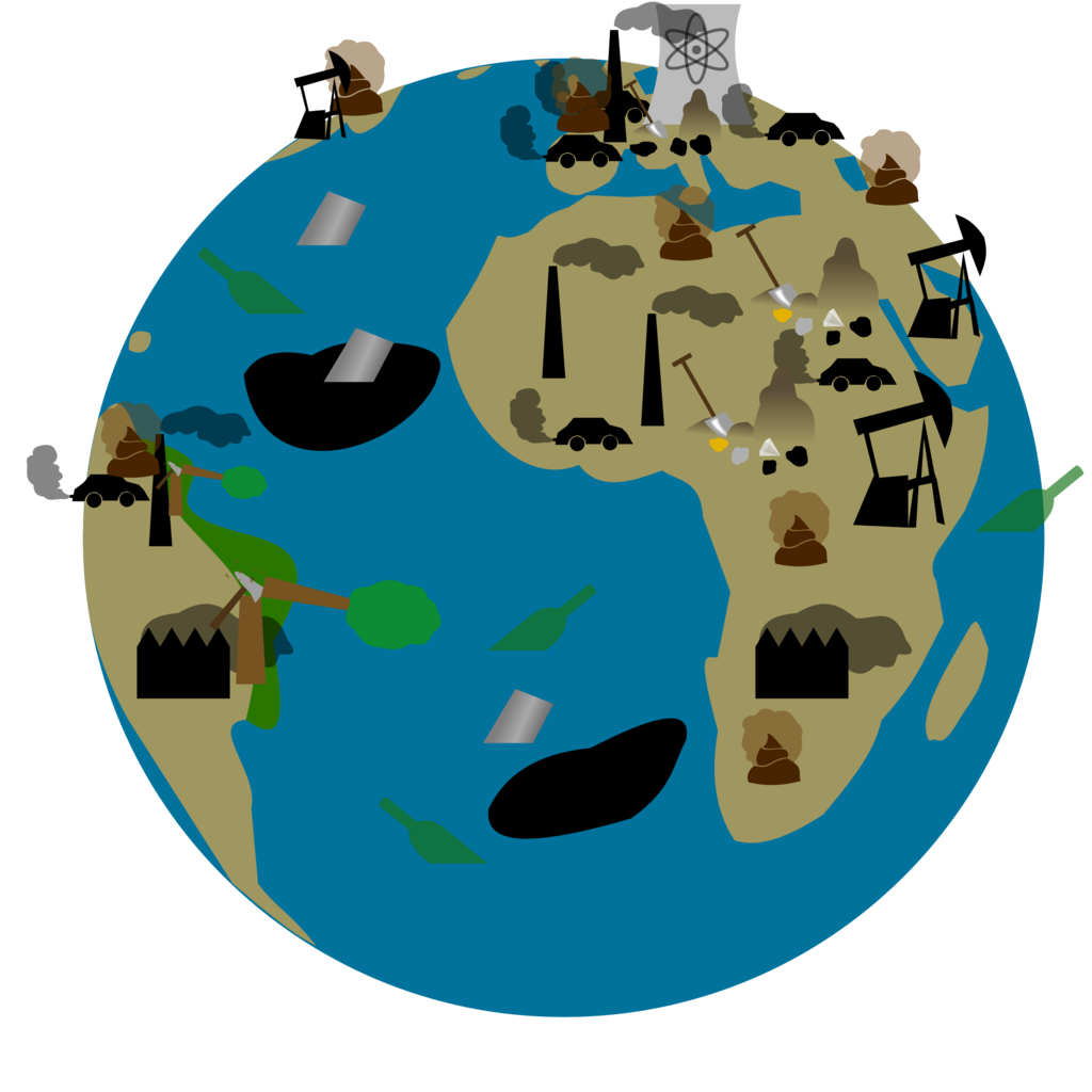 1024x1024 Earth clipart polluted