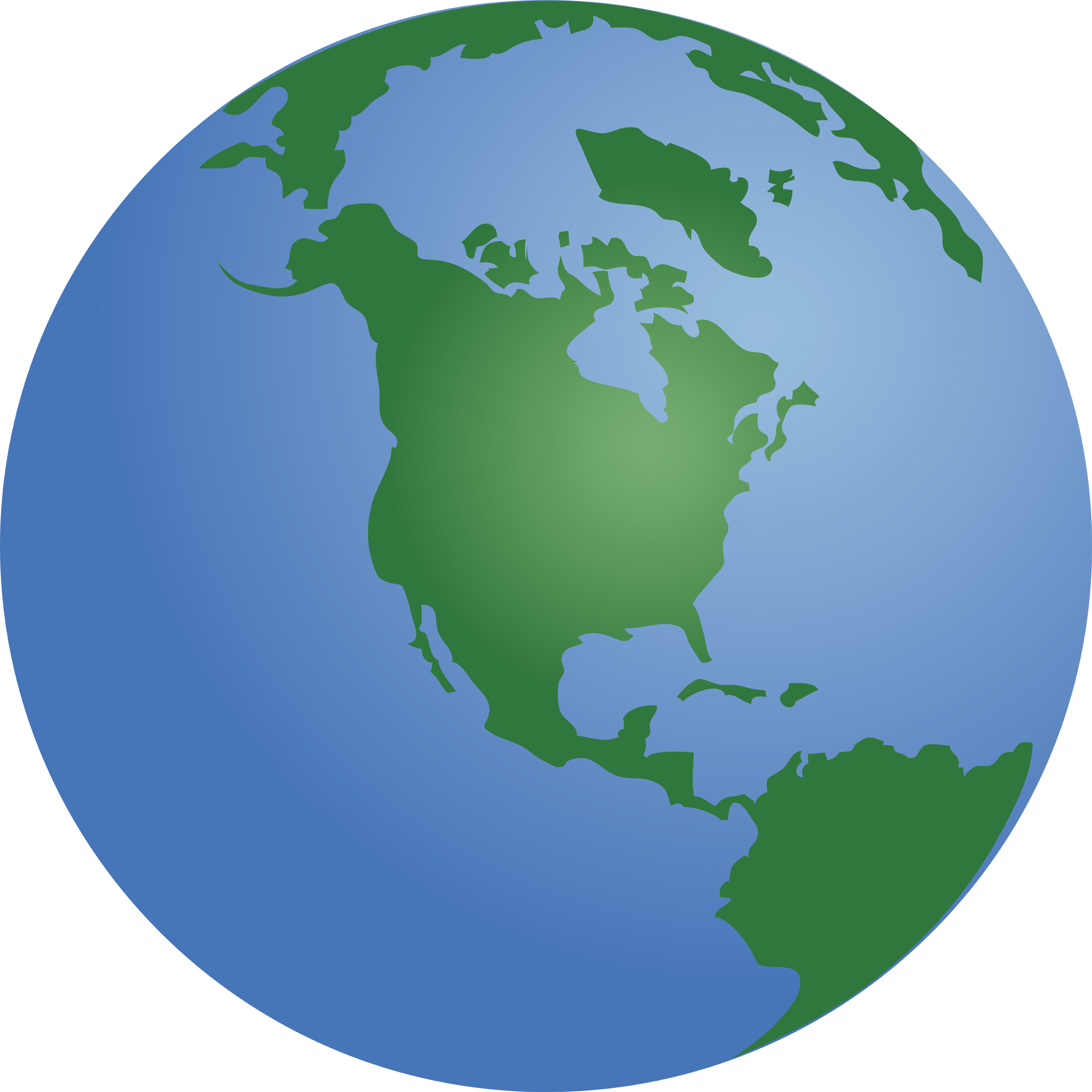 2400x2400 Globe background clipart