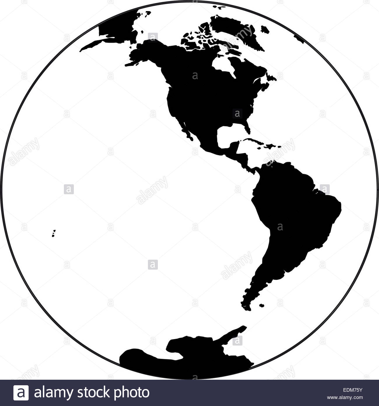 1299x1390 Beautiful Black And White Icon Planet Earth Stock Photo, Royalty