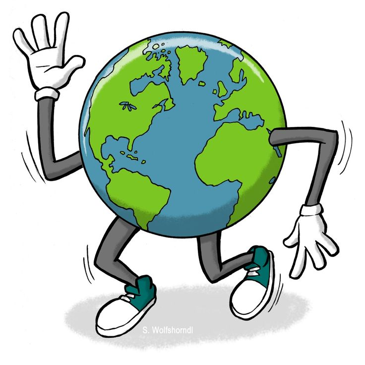 Earth Cartoon Clipart