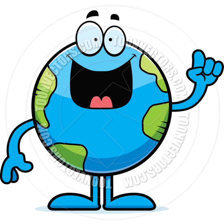 940x940 Earth Clipart Cartoon