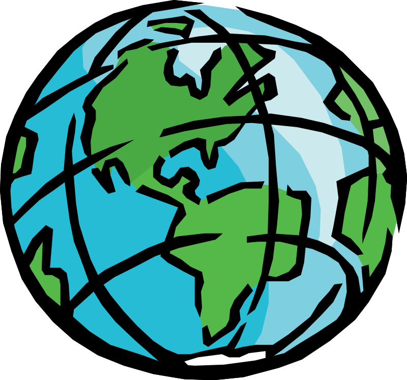 800x747 Earth Clipart Usa
