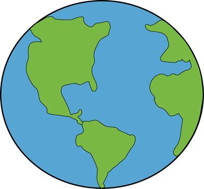 400x371 Earth Globe Clip Art 2