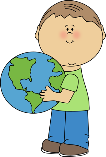 339x500 Image of Globe Clipart for Kids