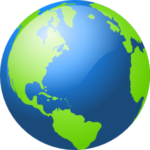 300x300 Earth PNG, SVG Clip art for Web
