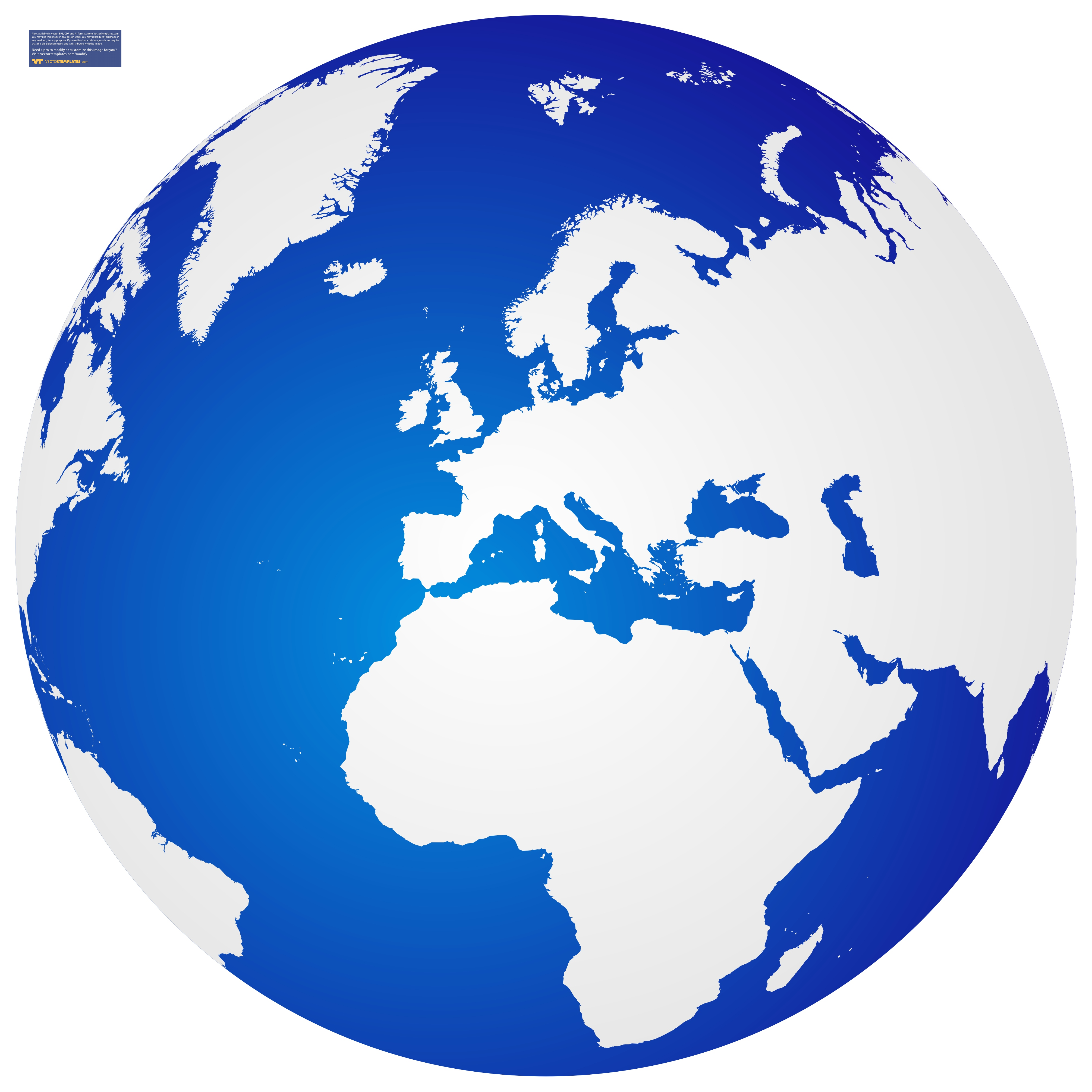 4021x4021 Clipart World Globe