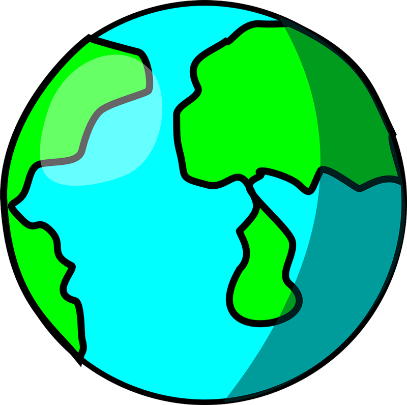 800x796 Earth free to use clip art