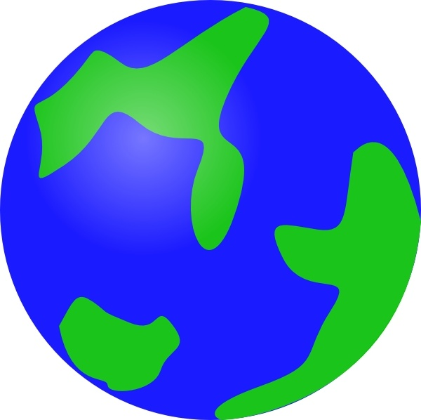 600x598 Globe Earth clip art Free vector in Open office drawing svg ( svg