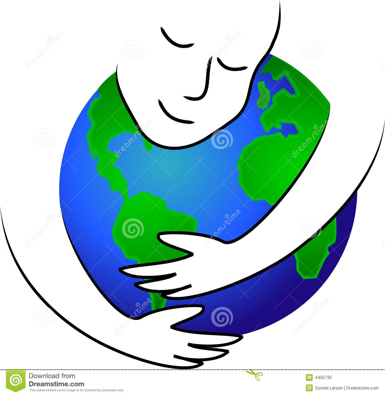 1300x1337 Hug clipart earth