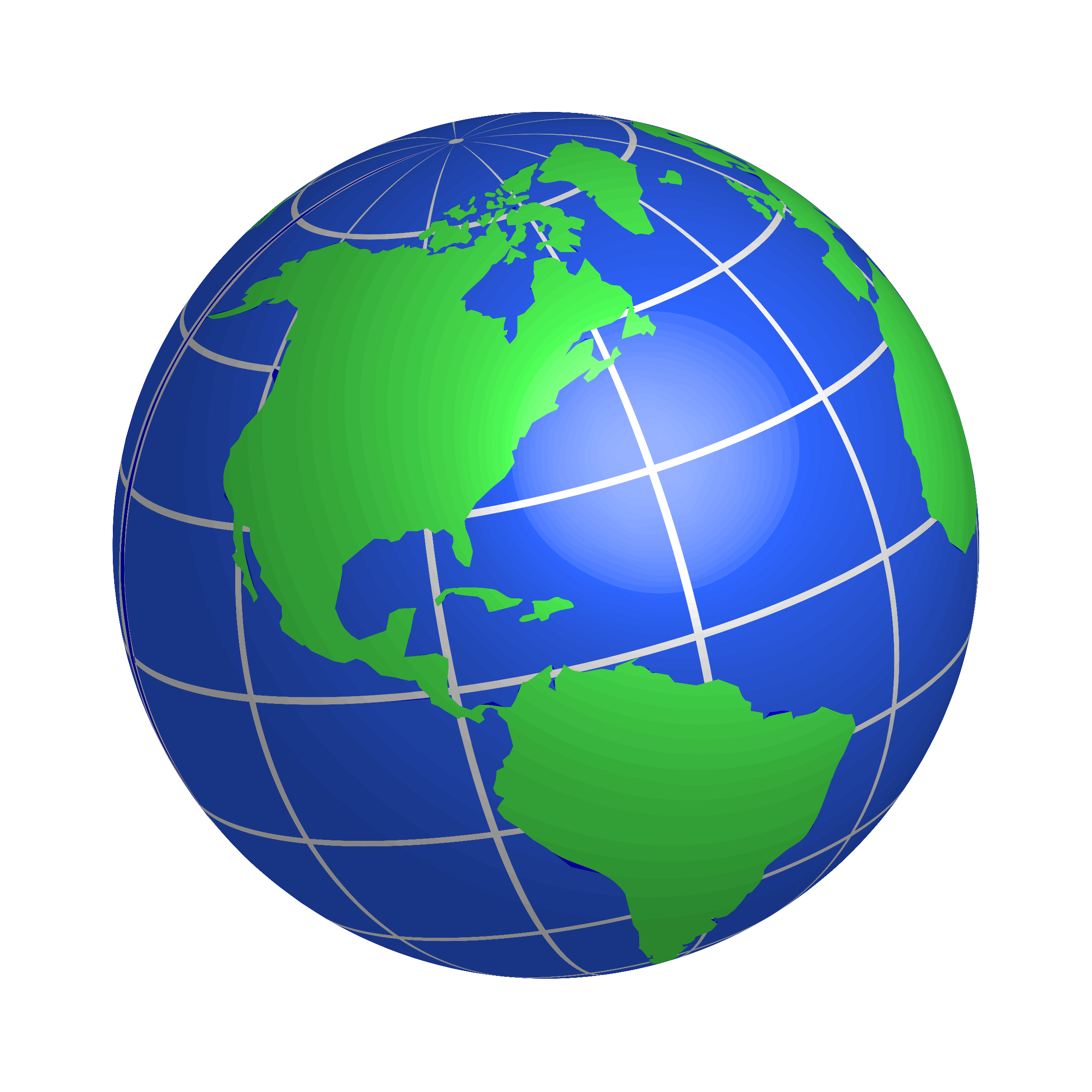 2400x2400 Globe Clipart Transparent Background