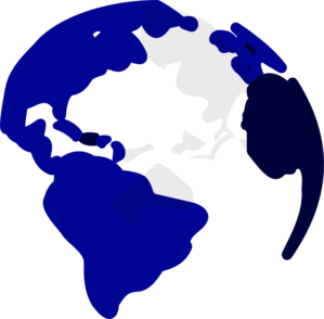 299x294 Blue Earth Png, Svg Clip Art For Web