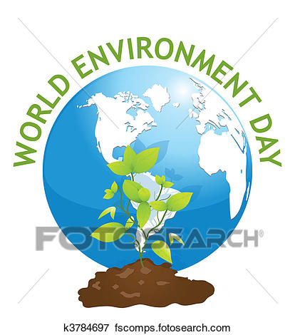 414x470 Clip Art of earth day k3784697