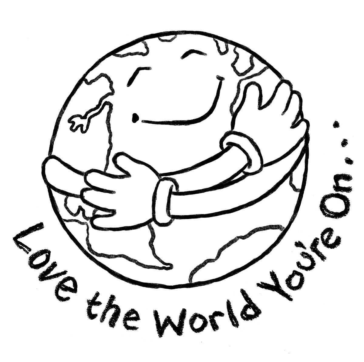 1200x1195 Love Earth Clipart