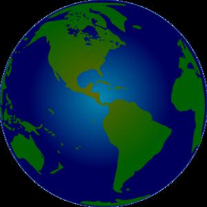 300x300 Globe Image Clip Art
